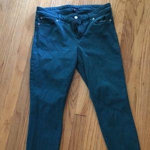 Gap denim skinny jeans